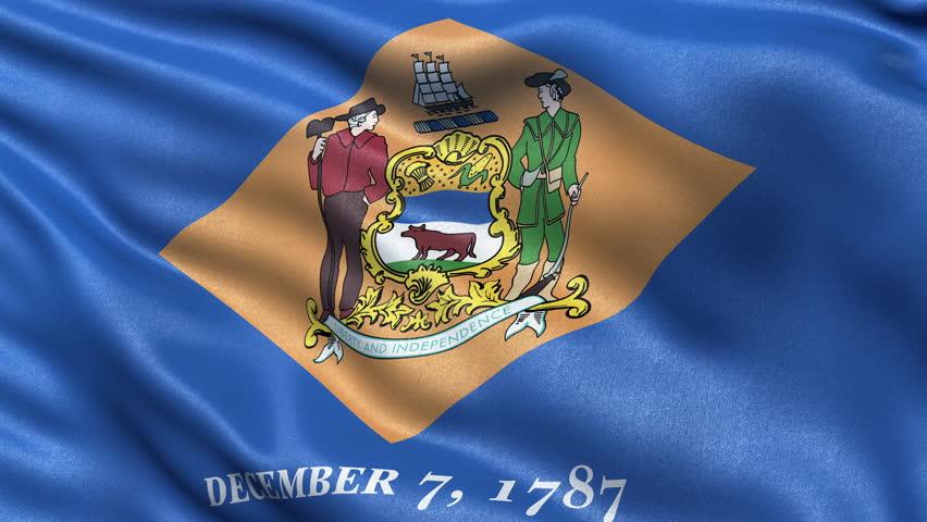 Флаг Делавэра